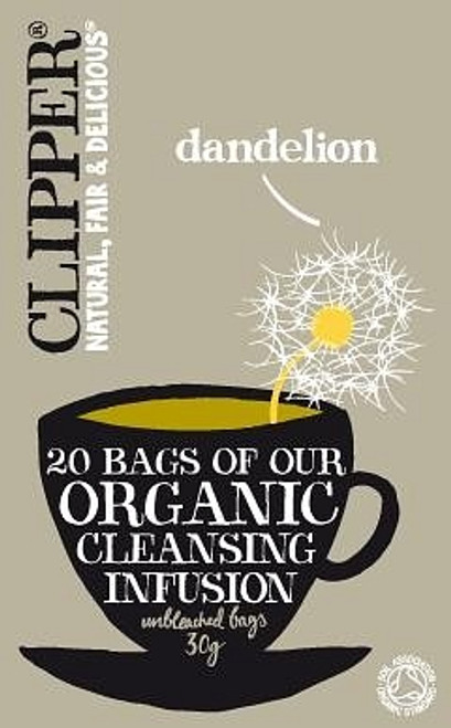 Cleansing Infusion Dandelion Tea Organic 20 bags - Clipper