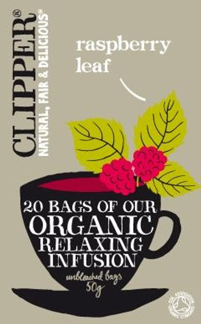 Relaxing Infusion Raspberry Leaf Tea Organic 20 bags - Clipper