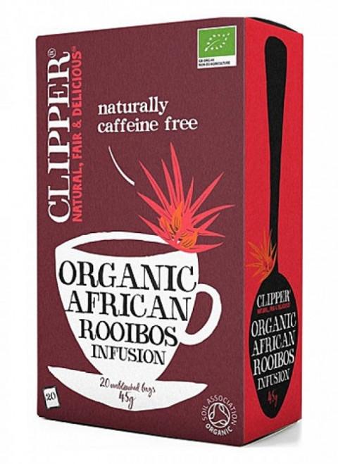 Rooibos Infusion Tea Organic 20 bags - Clipper