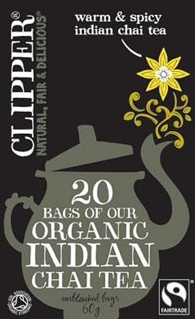 Chai Indian Tea Organic 20 bags - Clipper