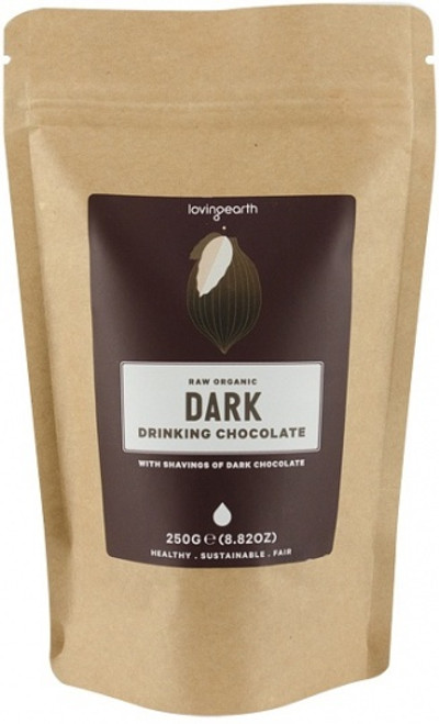 Drinking Chocolate Dark Organic 250g - Loving Earth