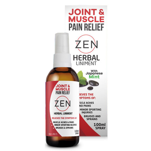 Natural Herbal Liniment Spray 100ml - Zen