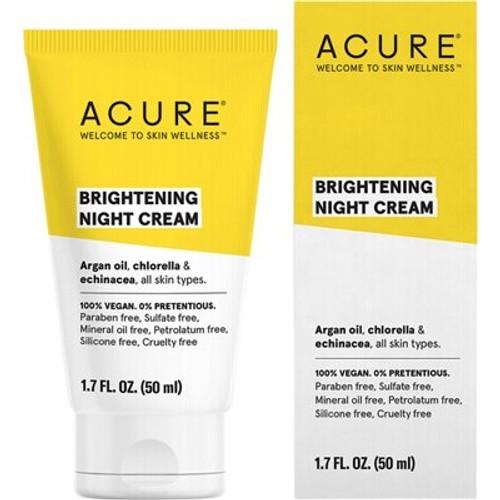 Night Cream Brightening 50ml - Acure