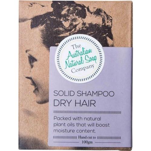 Dry Hair Solid Shampoo Bar 100g - The Australian Natural Soap Company