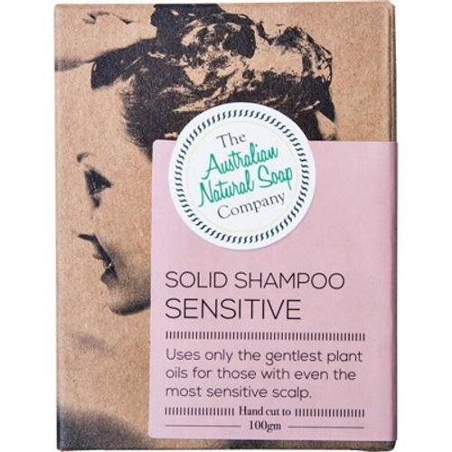 Sensitive Scalp Hair Solid Shampoo Bar 100g - The Australian Natural Soap Company