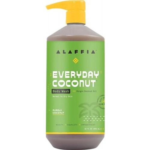 Body Wash Everyday Coconut 950ml - Alaffia
