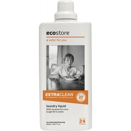 Laundry Liquid Lemon Extra Clean 850ml - Ecostore