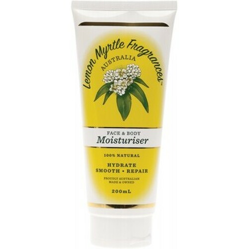 Lemon Myrtle Moisturiser 200ml - Lemon Myrtle Fragrances