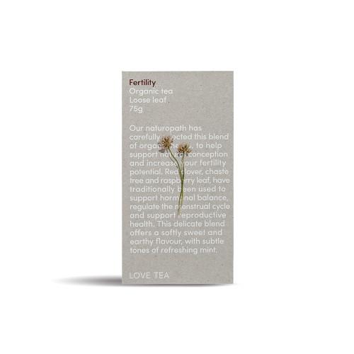 Fertility Tea Loose Leaf Organic 75g - Love Tea