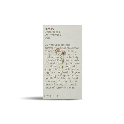 Fertility Tea Organic 20 Pyramid Bags - Love Tea