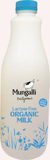 Milk Lactose Free Jersey Organic 1.5L - Mungalli Creek Dairy