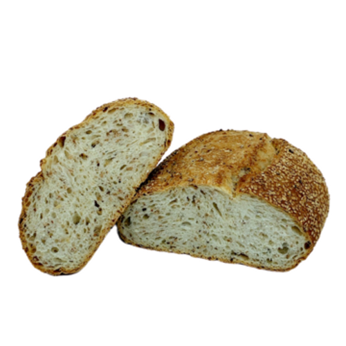 Country Grain Sourdough (sliced) - Sol Organic Bakery 650g *Pre-order to ensure Supply