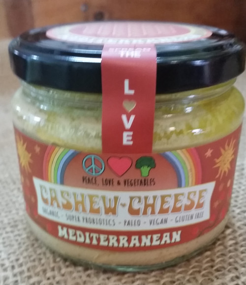 Cashew Cheese Mediterranean Organic 280g - Peace Love Veges