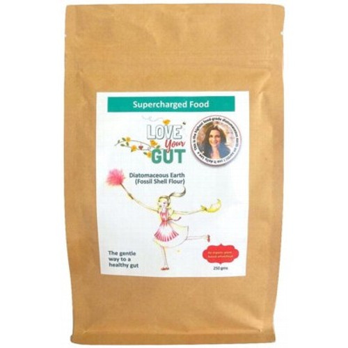 Diatomaceous Earth Love Your Gut Powder 250g - Supercharged Food