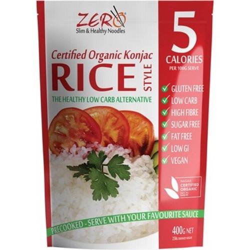 Konjac Rice Organic 400g - Zero
