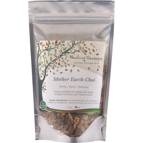 Mother Earth Chai Organic Caffeine Free 100g - Healing Concepts