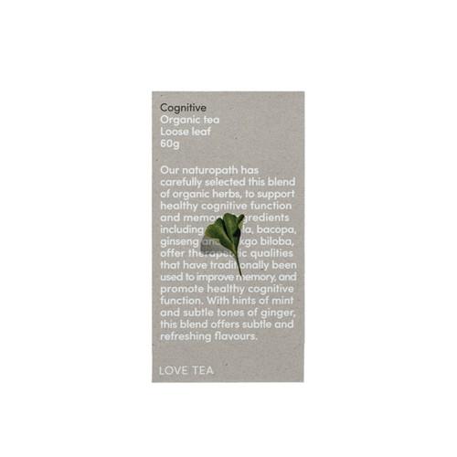 Cognitive Tea Loose Leaf Organic 60g - Love Tea