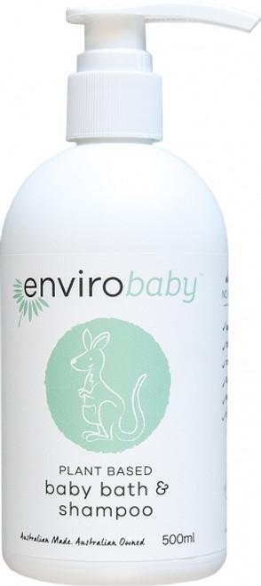 Baby Bath & Shampoo 500ml - Enviro Baby