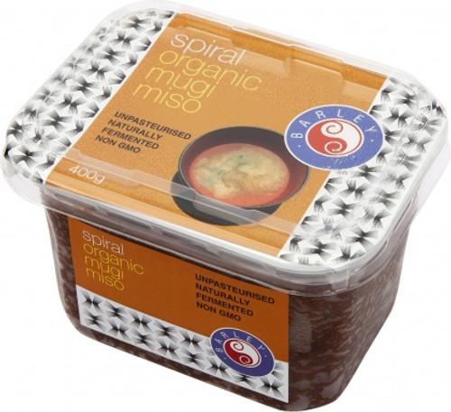 Miso Mugi (Barley) Organic 300g - Spiral