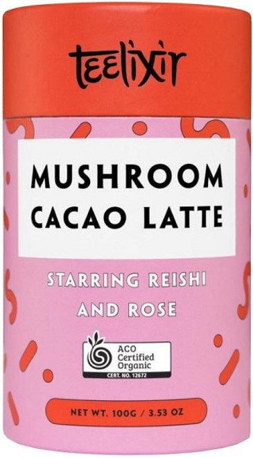 Mushroom Cacao Latte with Reishi 100g - Teelixir