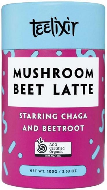 Mushroom Beet Latte with Chaga  100g - Teelixir