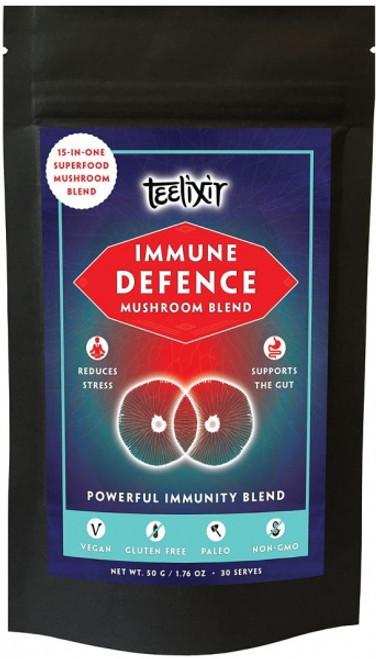 Immune Defense Mushroom Blend powder 50g - Teelixir