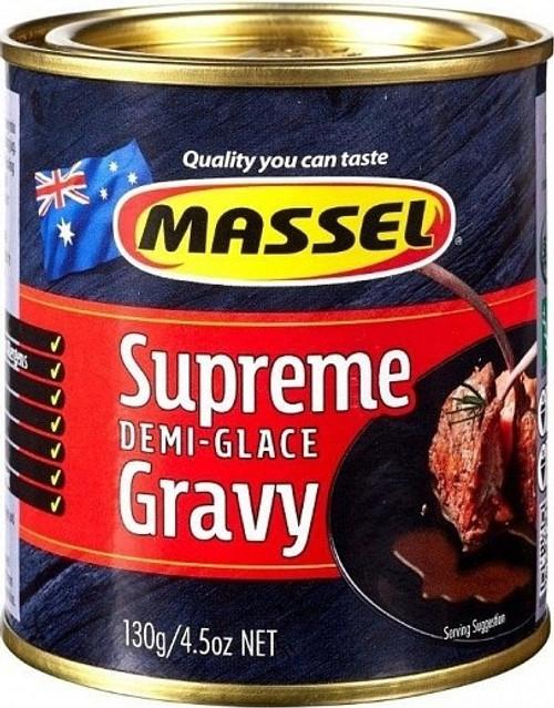Gravy Mix Supreme Demi-Glace 130g - Massel