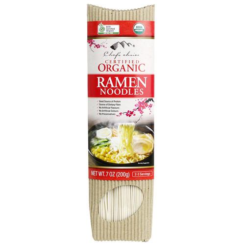 Ramen Stick Noodles Organic 200g - Chef's Choice
