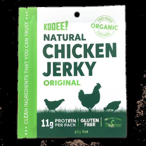 Chicken Jerky Original Organic 30g - Kooee