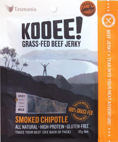 Beef Jerky Smoked Chipotle 30g - Kooee