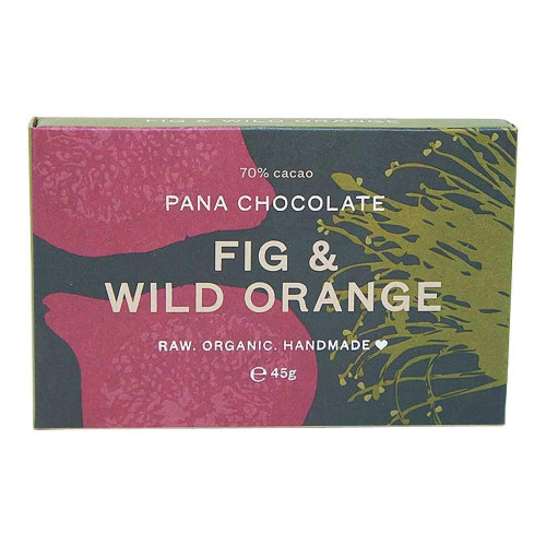 Chocolate Fig & Wild Orange Raw Organic 45g - Pana