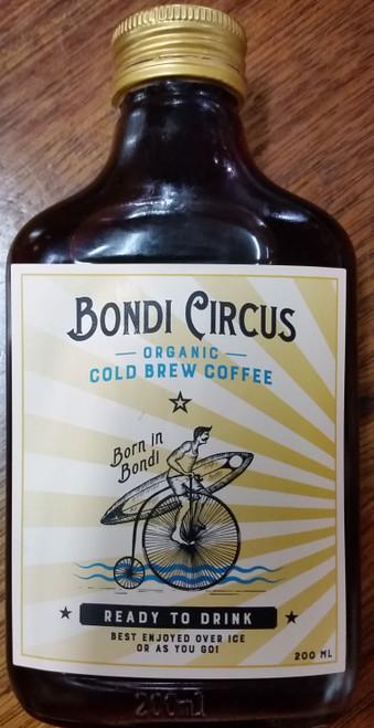 Cold Brew Coffee Ready To Drink Organic 200ml - Bondi Circus