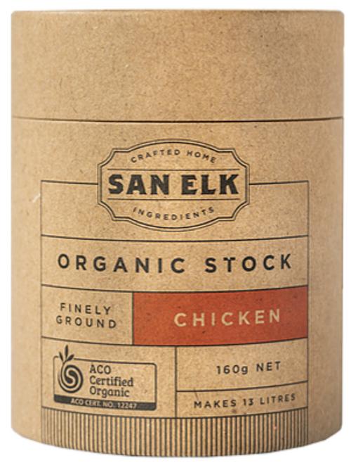 Chicken Artisan Stock Powder Organic 160g - San Elk