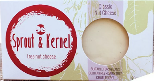 Classic Tree Nut Cheese Block Vegan Organic 120g - Sprout & Kernal