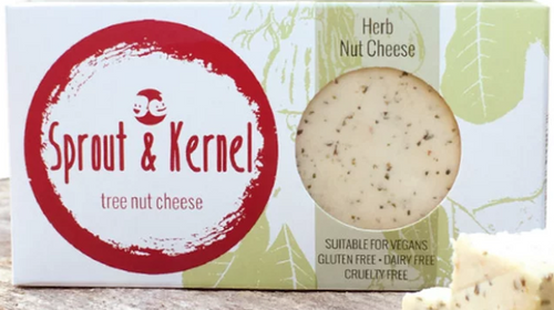 Herb Tree Nut Cheese Block Vegan 120g - Sprout & Kernal