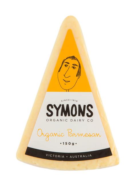 Parmesan Block Organic 150g - Symons