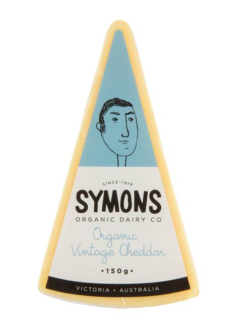 Cheddar Vintage Organic 150g - Symons