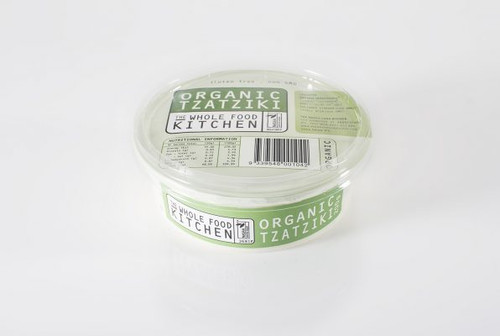 Tzatziki Organic 200g - The Whole Food Kitchen