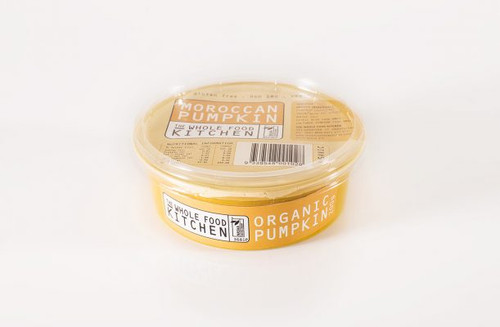 Moroccan Pumpkin Dip Organic 200g - The Whole Food Kitchen