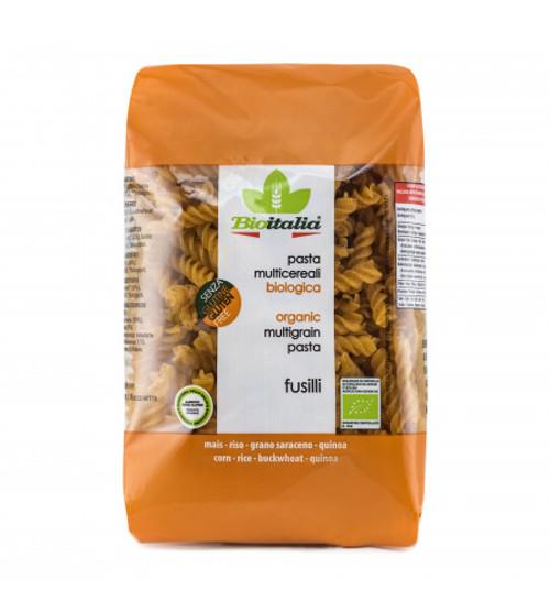Multigrain Fusilli (Spiral) Gluten Free 340g -  Bioitalia