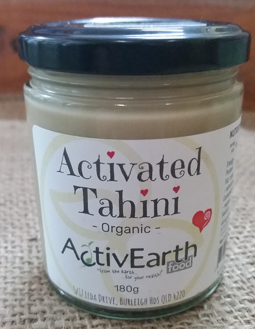 Activated Tahini Organic 180g - ActivEarth Foods