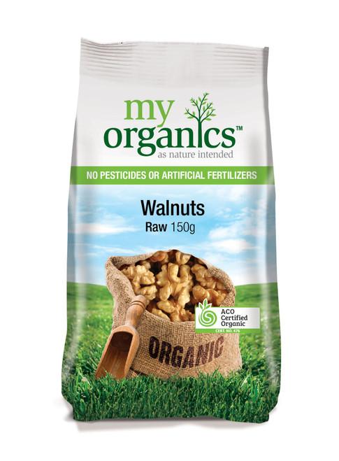 Walnuts Raw Organic 150g - My Organics