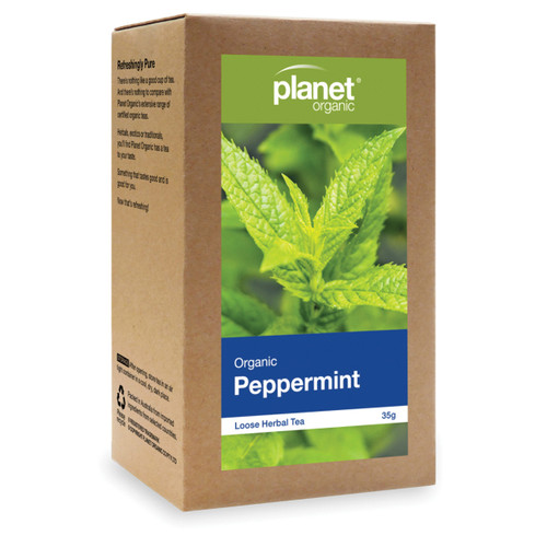 Peppermint Tea Loose Leaf Organic 35g - Planet Organic