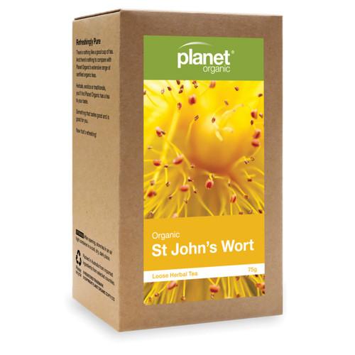 St Johns Wort Organic Loose Leaf Tea 75g - Planet Organic