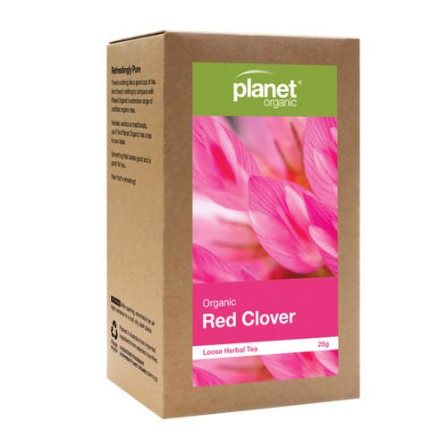 Red Clover Organic Loose Leaf Tea 25g - Planet Organic
