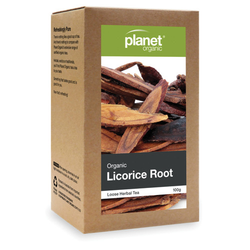 Licorice Root Organic Loose Leaf Tea 100g - Planet Organic