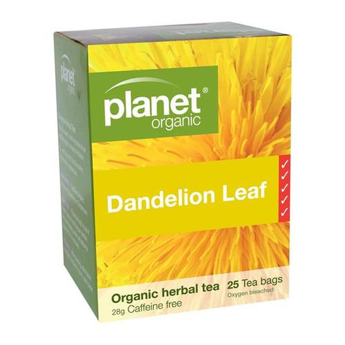 Dandelion Leaf Organic Tea 25 Bags - Planet Organic