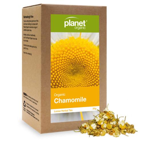 Chamomile Organic Loose Leaf Tea 35g - Planet Organic