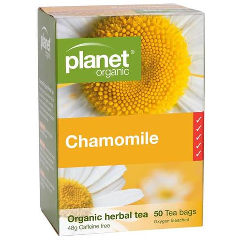 Chamomile Organic Tea 50 Bags - Planet Organic