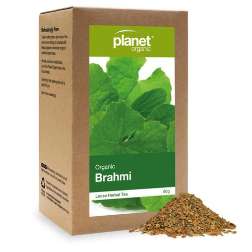 Brahmi Loose Leaf Tea Organic 50g - Planet Organic